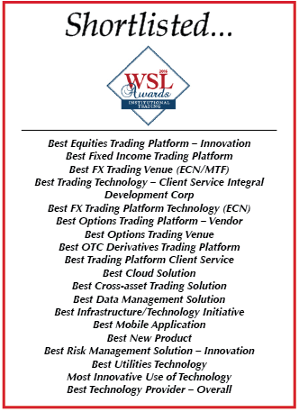 WSL Institutional Trading 2016 shortlisted